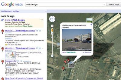 Il legame tra panoramio e google maps
