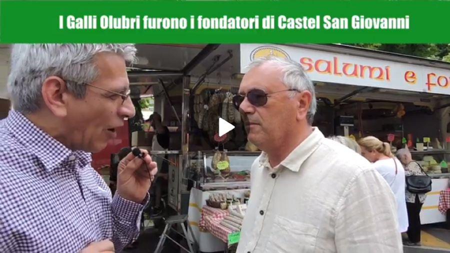 interviste a Castel San Giovanni per Piacenza Capitale della Scultura