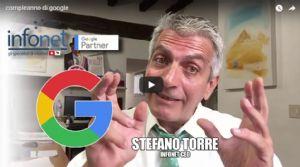 [video] Compleanno di Google