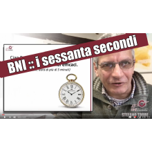 [VIDEO] come ti faccio 60 secondi efficaci