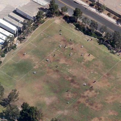 La partitella del giovedi vista da Google Maps