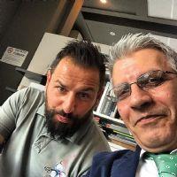 selfie tra Stefano Torre e Manuel Sidoli