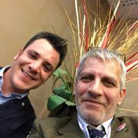 selfie con Mattia Varesi a BNI