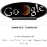 eclisse di luna su google