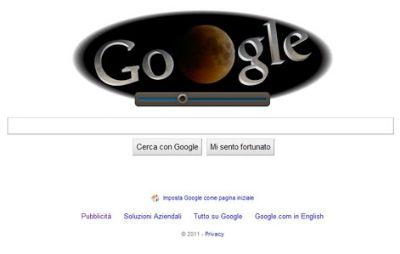Google vestito da Luna