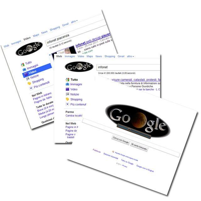 eclisse lunare giugno 2011 su google