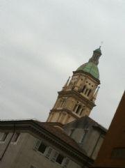 il campanile di san pietro a piacenza