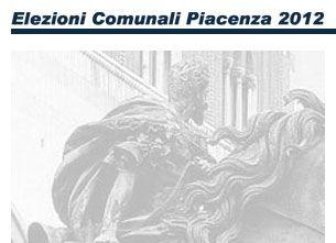 Pubblicato il sito sulle elezioni comunali di Piacenza 2012