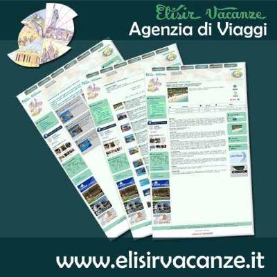 Nuovo sito Elisir Vacanze agenzia di viaggio