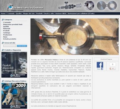 La Meccanica Padana inaugura il nuovo sito