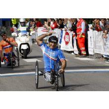 Alex Zanardi vince l'oro alle paraolimpiadi di Londra