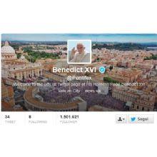 Papa Benedetto XVI si dimette il 28 febbraio 2013. La presenza social del Papa dura poco