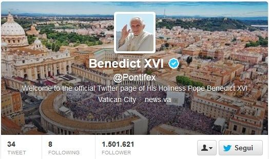 Papa Benedetto XVI lascia il pontificato