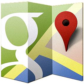 Mappe Google a volo d'uccello in Italia