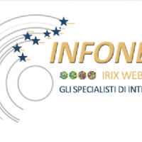 infonet logo e payoff