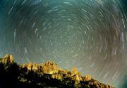 rotazione delle stelle attorno al polo