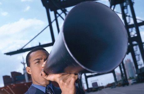 advertising megafono
