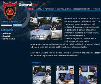 Online con il nuovo sito web la General Pol vigilanza armata