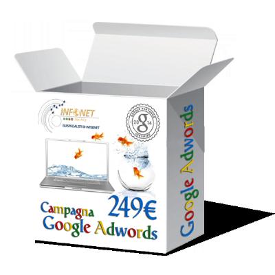 Campagna adwords a 249 Euro