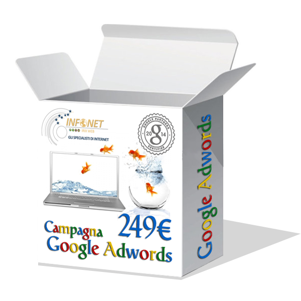 scatola campagna adwords