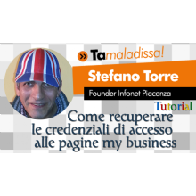 [video] Come recuperare le credenziali di accesso alle pagine google my business