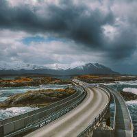 le nuvole sull'atlantic road