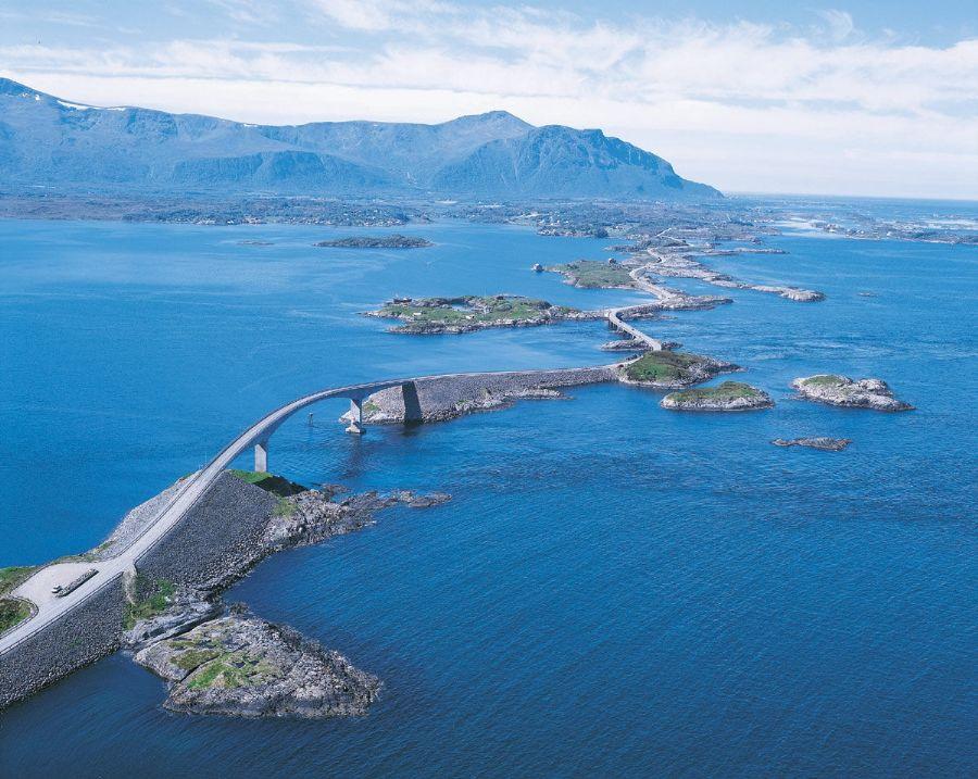 atlantic road panorama