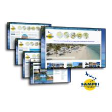 Il Sito internet di Sampei tours