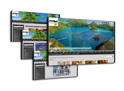 Il sito internet di Aemme Viaggi