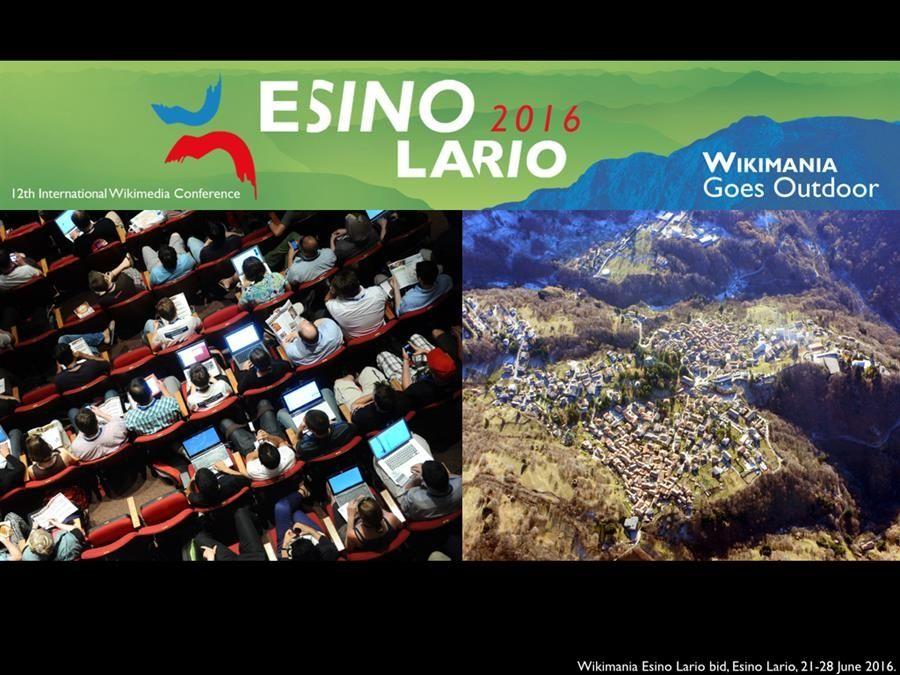 Wikimania esino Lario
