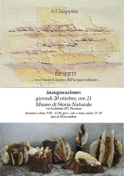 Invito alla inaugurazione della Mostra di Alessandra Chiappini
