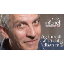 [video] pubblicità della infonet in dialetto piacentino