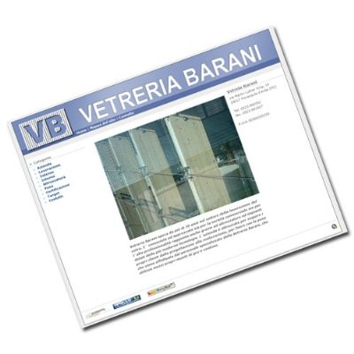 Online il nuovo sito di Vetreria Barani