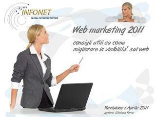 copertina webmarketing 2011