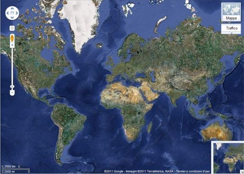 mappamondo completo
